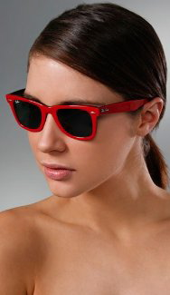 Red Ray Ban-- $139