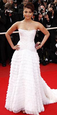 Bollywood actress Aishwarya Rai in Cavalli Couture