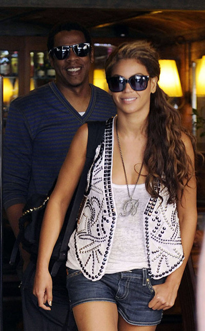 Beyonce& Jayz. (Barcelona)