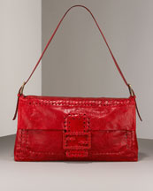 Fendi Red Baguette Bag. $2090