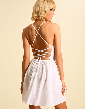 Back Criss Cross dress, in 4 other colours $22.07