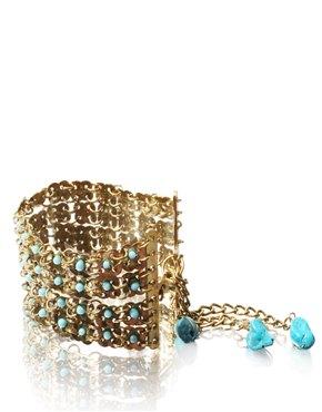 Bracelet with Turquoise stone. $9.20