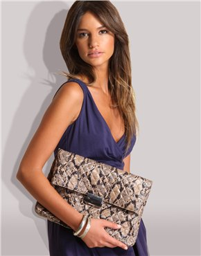 Large SnakeSkin Clutch. $27.59