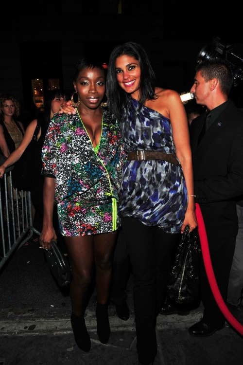 Rachel Roy and Estelle at one of her Fashion event (NY)