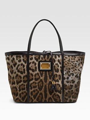 D&G Leopard Tote