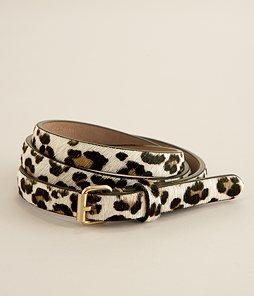 Ann Taylor, Skinny Leopard Belt