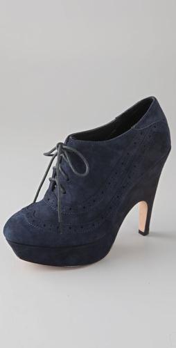 Dolce Vita Harrison Suede Oxford Bootie $188